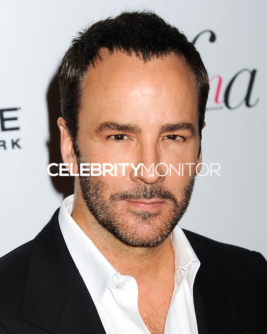 NEW YORK CITY, NY, USA - SEPTEMBER 05: Tom Ford arrives at the 2nd Annual Fashion Media Awards held at the Park Hyatt on September 5, 2014 in New York City, New York, United States. (Photo by Celebrity Monitor)