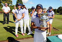 Caryn Khoo of Auckland. Day Four semi finals of the Toro Interprovincial Women's Championship, Sherwood Golf Club, Whangarei,  New Zealand. Friday 8 December 2017. Photo: Simon Watts/www.bwmedia.co.nz