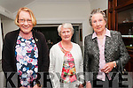 Fashion Show : Pictured at the fashion show in aid of the Irish Heart Foundation organized by Mary & Marion O'Grady held at the Cliff House Hotel, Ballybunion on Friday night last were Aine Joyce, Anne Deenihan & Christina Joyce.