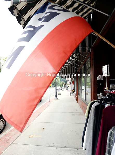 Winsted, CT- 11 June 2015-061115CM03-  Downtown Winsted is shown on Thursday.  A consultant recently hired by the town to analyze the town's zoning regulations, has concluded that the regulations are not in line with the town's vision for downtown.   Christopher Massa Republican-American
