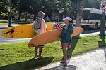 Surfers, Waikiki Beach