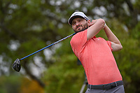 Kyle Stanley (USA) watches his tee shot on 2 during day 2 of the Valero Texas Open, at the TPC San Antonio Oaks Course, San Antonio, Texas, USA. 4/5/2019.<br /> Picture: Golffile | Ken Murray<br /> <br /> <br /> All photo usage must carry mandatory copyright credit (&copy; Golffile | Ken Murray)