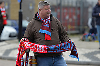 Match Day Scarfs for sale during Arsenal vs West Ham United, Premier League Football at the Emirates Stadium on 7th March 2020