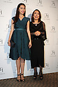October 17, 2016, Tokyo, Japan - Japanese actress Miki Arimura (L) smiles with Japanese designer Tae Ashida at her spring and summer collection in Tokyo as a part of Japan Fashion Week on Monday, October 17, 2016. Tae Ashida celebrated her 25th anniversary collection.   (Photo by Yoshio Tsunoda/AFLO) LWX -ytd-