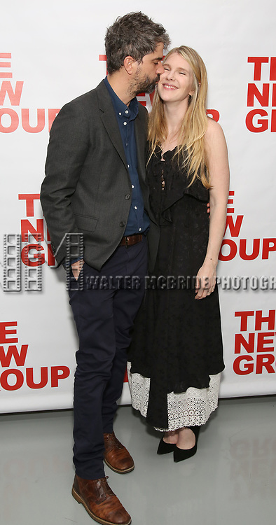 Hamish Linklater and Lily Rabe attend the World Premiere of Hamish Linklater's 'The Whirligig' at Green Fig's Social Drink and Food Club Terrace on May 21, 2017 in New York City.