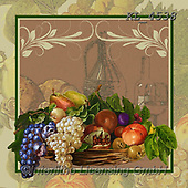 Interlitho-, STILL LIFE STILLEBEN, NATURALEZA MORTA, paintings+++++,grapes,fruits,KL4538,#i#, EVERYDAY ,napkins,Franco