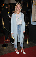 "Nell Hudson at the ""Home, I'm Darling"" press night, Duke of York's Theatre, St Martin's Lane, London, England, UK, on Tuesday 05th February 2019.<br /> CAP/CAN<br /> ©CAN/Capital Pictures"