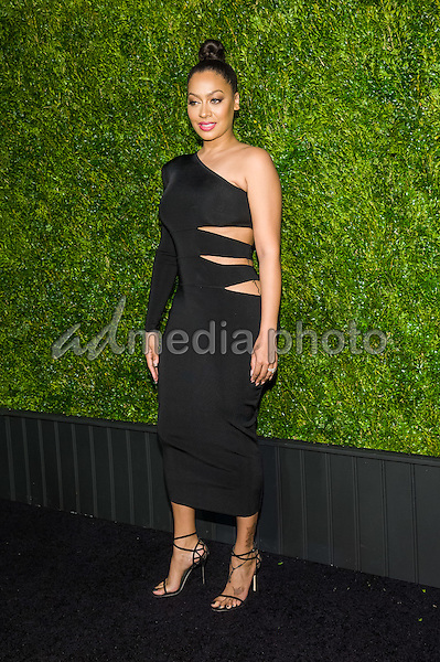 18 April 2016 - New York, New York- Lala Anthony. Chanel Artists Dinner at Tribeca Film Festival. Photo Credit: Mario Santoro/AdMedia
