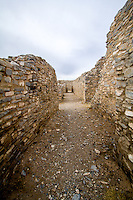 The Gran Quivira of Salinas Pueblo Missions National Monument is the largest of the three missions. By 1672 a combination of disease, drought, famine, and Apache raiding led to the abandonment of Gran Quivira.