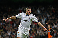 Futbol.  COPA del rey. Real Madrid vs Valencia. 15/1/12