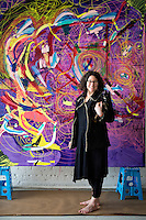 Joanne Greenbaum portrait Artist