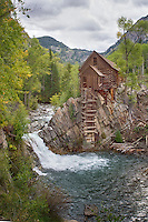 Crystal Mill near Marble, Colorado