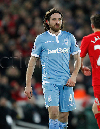 27.12.2016. Anfield, Liverpool, England.  EPL Premiership football, Liverpool versus Stoke. Stoke City midfielder Joe Allen.