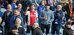 19.09.2019 Rangers v Feyenoord: Rangers fan in an Ajax shirt