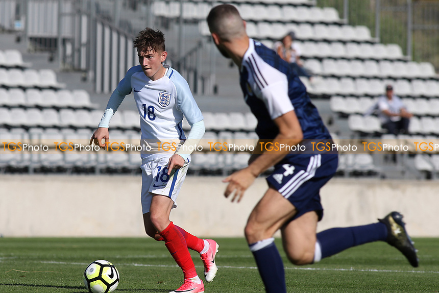 David Brooks of England in action during England Under-18 vs Scotland Under-20, Toulon Tournament Semi-Final Football at Stade Parsemain on 8th June 2017