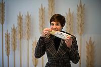 Campobasso, 11 Gennaio, 2012. Rossella Ferro, direttore marketing de La Molisana, fotografata all'interno dello stabilimento di Campobasso.