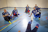Doboj. War veterans and landmine victims are playing sitting volleyball in a club that Landmine Survivors Initiative employee Zoran Panic has founded.