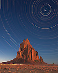 Shiprock by Night, <br /> Shiprock, New Mexico