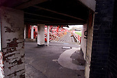 23/06/2000 Blackpool FC Bloomfield Road Ground.West paddock entance......© Phill Heywood.