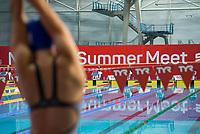 Picture by Allan McKenzie/SWpix.com - 05/08/2017 - Swimming - Swim England National Summer Meet 2017 - Ponds Forge International Sports Centre, Sheffield, England - Swim England, TYR, branding.