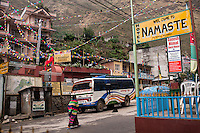 Shyaphru is a popular town for trekkers. The popular trek of Langtang starts here as well as the Tamang Heritage trail. 02 May 2013.