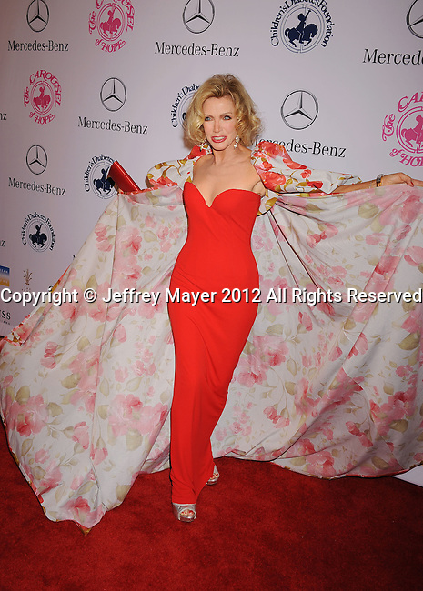 BEVERLY HILLS, CA - OCTOBER 20: Donna Mills arrives at the 26th Anniversary Carousel Of Hope Ball presented by Mercedes-Benz at The Beverly Hilton Hotel on October 20, 2012 in Beverly Hills, California.