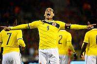 Radamel Falcao Colombia   <br /> Bruxelles 14-11-2013 <br /> Football Calcio 2013/2014 Friendly Match. Belgio - Colombia <br /> Foto PHOTO NEWS / PANORAMIC / Insidefoto