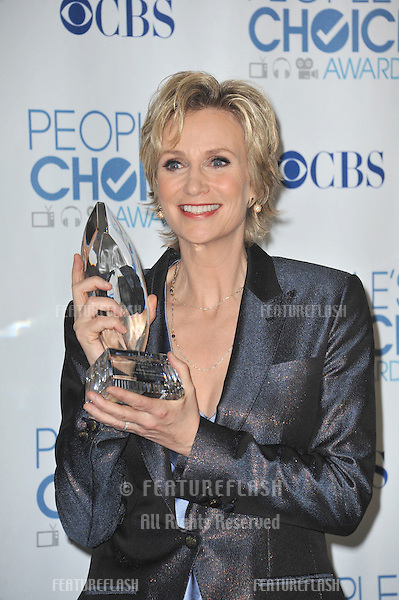 Jane Lynch at the 2011 Peoples' Choice Awards at the Nokia Theatre L.A. Live in downtown Los Angeles..January 5, 2011  Los Angeles, CA.Picture: Paul Smith / Featureflash
