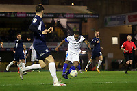 Neil Danns of Tranmere Rovers gets in a shot during Southend United vs Tranmere Rovers, Sky Bet EFL League 1 Football at Roots Hall on 11th January 2020