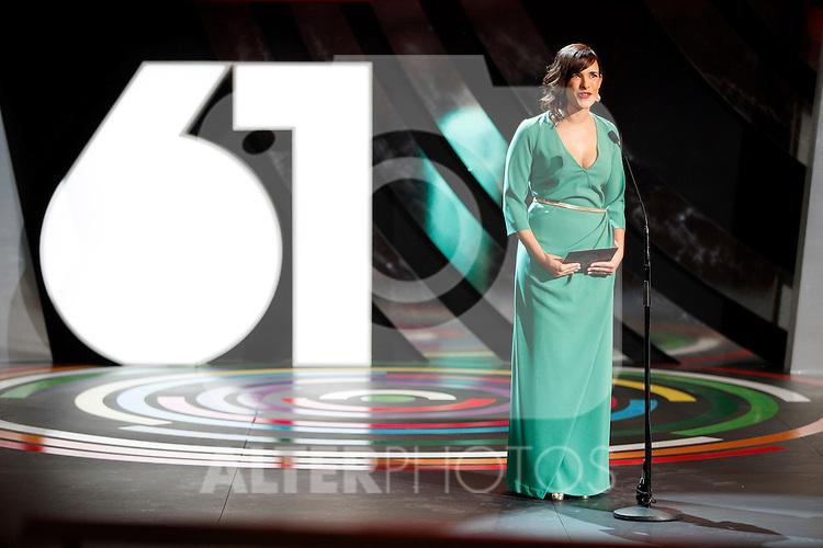 Sara Cozar  during the 61st San Sebastian International Film Festival's opening ceremony, in San Sebastian, Spain. September 20, 2013. (ALTERPHOTOS/Victor Blanco)