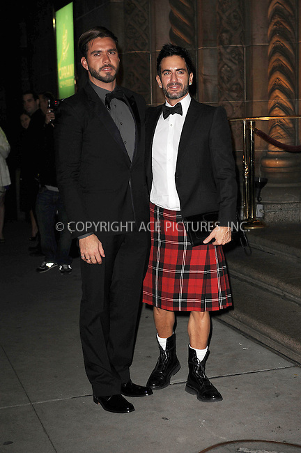 WWW.ACEPIXS.COM . . . . . ....November 2 2009, New York City....Lorenzo Martone and designer Marc Jacobs arriving at the 13th Annual 2009 ACE Awards presented by the Accessories Council at Cipriani 42nd Street on November 2, 2009 in New York City.....Please byline: KRISTIN CALLAHAN - ACEPIXS.COM.. . . . . . ..Ace Pictures, Inc:  ..tel: (212) 243 8787 or (646) 769 0430..e-mail: info@acepixs.com..web: http://www.acepixs.com