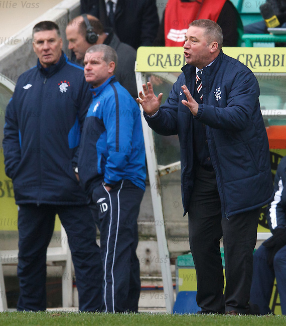 Ally McCoist encourages his players