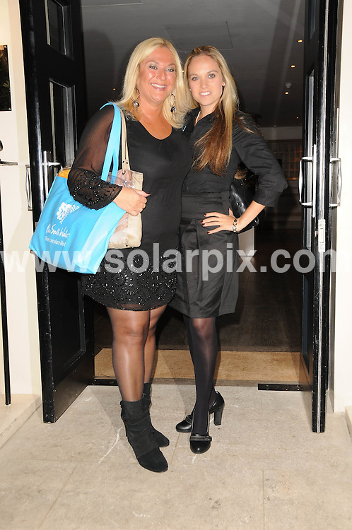 **ALL ROUND PICTURES FROM SOLARPIX.COM**.**WORLDWIDE SYNDICATION RIGHTS**.Guests attend the book launch party for Kathy Lette's new book 'To Love, Honour and Betray' at the Haymarket Hotel, London, UK. 24th September 2008..This pic: Vanessa Feltz and Allegra Feltz..JOB REF: 7450 MSR    DATE: 24_09_2008.**MUST CREDIT SOLARPIX.COM OR DOUBLE FEE WILL BE CHARGED* *UNDER NO CIRCUMSTANCES IS THIS IMAGE TO BE REPRODUCED FOR ANY ONLINE EDITION WITHOUT PRIOR PERMISSION*