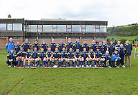 Saturday 12th May 2012  Leinster team before the Junior Inter-provincial between Ulster and Leinster at the Glynn, Larne, Count Antrim.<br /> <br /> Photo Credit - John Dickson / DICKSONDIGITAL