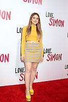"LOS ANGELES - MAR 13:  Lauren Giraldo at the ""Love, Simon"" Special Screening at Westfield Century City Mall Atrium on March 13, 2018 in Century City, CA"