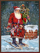 GIORDANO, CHRISTMAS SANTA, SNOWMAN, WEIHNACHTSMÄNNER, SCHNEEMÄNNER, PAPÁ NOEL, MUÑECOS DE NIEVE, nostalgic, paintings+++++,USGI2724M1,#X# nostalgic,vintage
