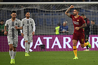 Aleksandar Kolarov of AS Roma celebrates after scoring a goal during the Serie A 2018/2019 football match between AS Roma and FC Internazionale at stadio Olimpico, Roma, December, 2, 2018 <br />  Foto Andrea Staccioli / Insidefoto