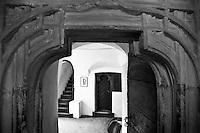 stanze interne del castello chambres à l'intérieur du château internal rooms