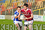 Thomas Curran Dromid Pearses v Cathal O'Neill Derrytresk in the AIB All Ireland Junior Club Championship Semi Final at Portlaoise on Sunday
