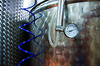 Cutrofiano (Le) - Cantine Aperte 2010 - Particolare di un silos utilizzato per conservare il vino