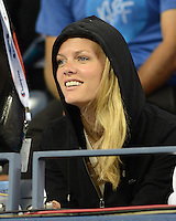 FLUSHING NY- SEPTEMBER 4: Brooklyn Decker is sighted watching her husband Andy Roddick Vs Juan Martin Del Potro on Armstrong stadium at the USTA Billie Jean King National Tennis Center on September 4, 2012 in Flushing Queens.  Credit: mpi04/MediaPunch INc. ***NO NY NEWSPAPERS*** /NortePhoto.com<br />