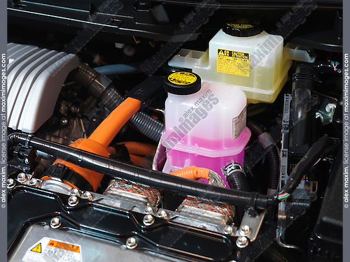 2010 Toyota Prius hybrid engine brake fluid and inventer coolant
