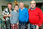 Francie and Rory Conway, Kieran Rutledge and Peter Maguire enjoying the evening in Cassidys on Thursday.