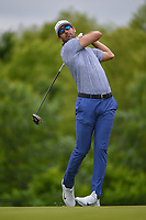 Cameron Tringale (USA) watches his tee shot on 4 during round 3 of the AT&T Byron Nelson, Trinity Forest Golf Club, Dallas, Texas, USA. 5/11/2019.<br /> Picture: Golffile | Ken Murray<br /> <br /> <br /> All photo usage must carry mandatory copyright credit (© Golffile | Ken Murray)