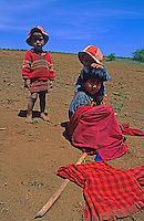 Children in the agricultural field in northern Myanmar