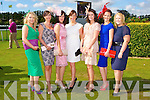 Dressed to Kill at the Killarney Races on Saturday front row l-r: Breda Griffin Cordal, Joanne Noonan Tralee, Mary O'Connor Castleisland, Margaret Roche Tralee, Rita Hennerbery Tralee, Siobhain O'Donoghue Castleisland and Ann Marie Flynn Cordal
