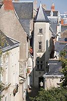 """Europe/France/Pays de la Loire/49/Maine-et-Loire/ Angers:Logis dit du """"Croissant XV° siècle, """" rue St-Aignan dans la vieille ville"""