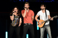 WEST PALM BEACH - MAY 12: (L-R) Hillary Scott, Charles Kelley and Dave Haywood of Lady Antebellum  perform at the Cruzan Amphitheatre on May 12, 2012 in West Palm Beach, Florida. © mpi04/MediaPunch Inc
