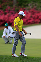 Shugo Imahira (JPN) on the 13th during the 1st round at the The Masters , Augusta National, Augusta, Georgia, USA. 11/04/2019.<br />