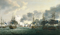 The Battle of Copenhagen, 2 April 1801 In 1801